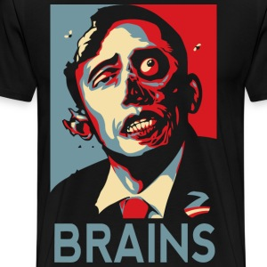 Zombama Brain - Men's Premium T-Shirt