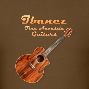 ibanez acoustic - Men's T-Shirt