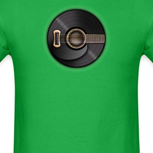 Guitar record - Men's T-Shirt