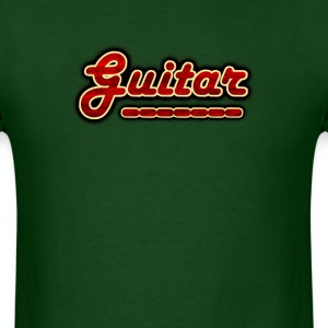 guitar decor - Men's T-Shirt