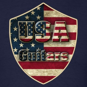 USA guitars - Men's T-Shirt
