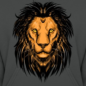 Lion Artwork Hoodies - Women's Hoodie