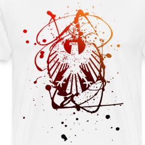 German Eagle Grunge - Men's Premium T-Shirt