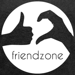 Friendzone - Women´s Rolled Sleeve Boxy T-Shirt