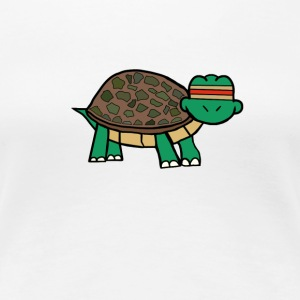 Jesse The Turtle  - Women's Premium T-Shirt