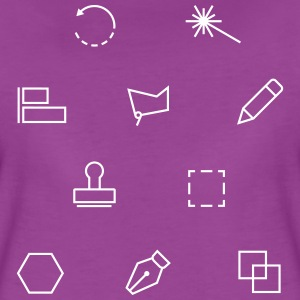 Tools of a graphic designer - Women's Premium T-Shirt