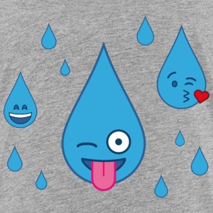 Rain is fun - Toddler Premium T-Shirt