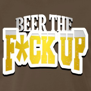 Beer The F Up T-Shirts - Men's Premium T-Shirt