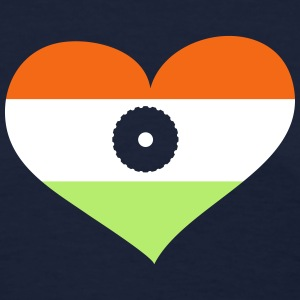 India Heart; Love India T-Shirts - Women's T-Shirt