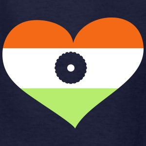 India Heart; Love India Kids' Shirts - Kids' T-Shirt