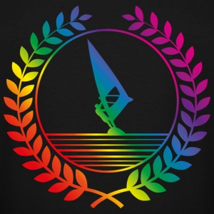 surfing rainbow T-Shirts - Men's Tall T-Shirt