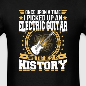 Electric Guitar And the Rest is History T-Shirt T-Shirts - Men's T-Shirt