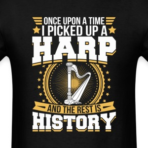 Harp And the Rest is History T-Shirt T-Shirts - Men's T-Shirt