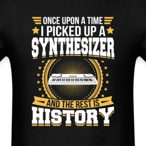 Synthesizer And the Rest is History T-Shirt T-Shirts - Men's T-Shirt
