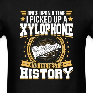 Xylophone And the Rest is History T-Shirt T-Shirts - Men's T-Shirt