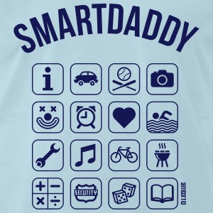 Smartdaddy (Daddy / Dad / SVG) T-Shirts - Men's Premium T-Shirt