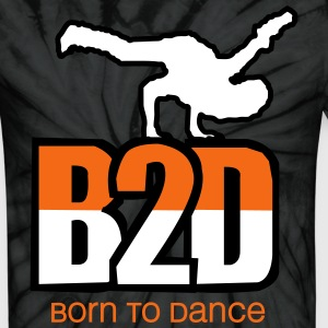 born to dance T-Shirts - Unisex Tie Dye T-Shirt