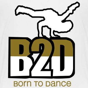 born to dance Kids' Shirts - Kids' Premium T-Shirt