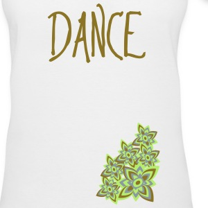 Dance (Flowers) T-Shirts - Women's V-Neck T-Shirt