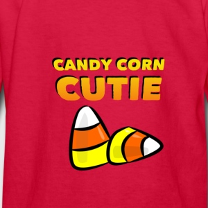CANDY CORN CUTIE Kids' Shirts - Kids' Long Sleeve T-Shirt