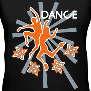 DANCE T-Shirts - Women's V-Neck T-Shirt