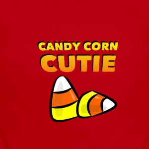 CANDY CORN CUTIE Baby Bodysuits - Baby Short Sleeve One Piece