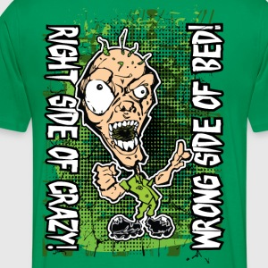 Crazy Ghoul Right Wrong T-Shirts - Men's Premium T-Shirt