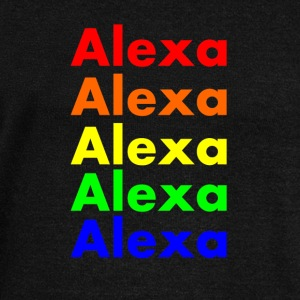 Alexa's Rainbow Long Sleeve Shirts - Women's Wideneck Sweatshirt