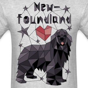 Geometric Newfoundland T-Shirts - Men's T-Shirt