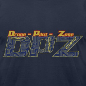 Drone-Pilot-Zone - Men's T-Shirt by American Apparel