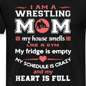 Wrestling Mom Shirt - Men's Premium T-Shirt