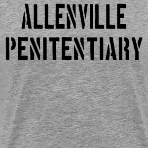 The Longest Yard - Allenville Penitentiary  T-Shirts - Men's Premium T-Shirt