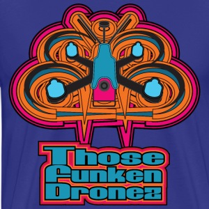 Those Funken Dronez - BLUE Meanies - Men's Premium T-Shirt