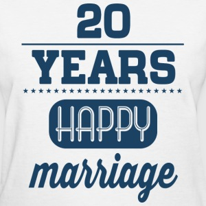 20 Years Happy Marriage T-Shirts - Women's T-Shirt