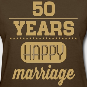 50 Years Happy Marriage T-Shirts - Women's T-Shirt