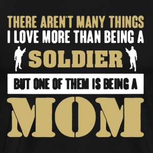 Soldier Mom Shirt - Men's Premium T-Shirt