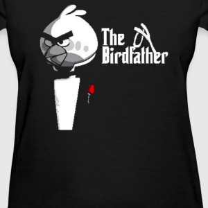 Birdfather Angry Birds Godfather Parody - Women's T-Shirt