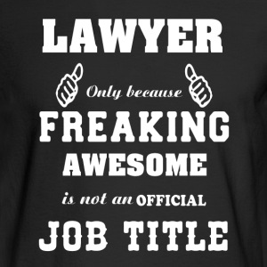 Lawyer Shirt - Men's Long Sleeve T-Shirt