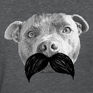 Staffy Moustache 2 - Women's T-Shirt