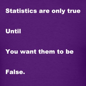 Statistical Truth - Men's T-Shirt