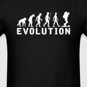 Backpacking Evolution T-Shirt T-Shirts - Men's T-Shirt
