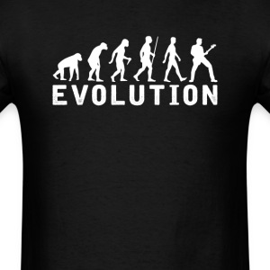 Bassist Evolution T-Shirt T-Shirts - Men's T-Shirt