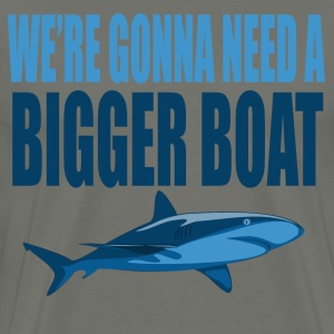 We're Gonna Need A Bigger Boat - Jaws Quote T-Shirts - Men's Premium T-Shirt