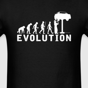 Car Mechanic Evolution T-Shirt T-Shirts - Men's T-Shirt