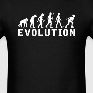 Female Roller Skates Evolution T-Shirt T-Shirts - Men's T-Shirt
