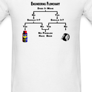 Engineering Flow Chart - Men's T-Shirt