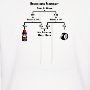 Engineering Flow Chart - Men's Hoodie