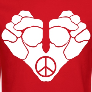 FIGHT FOR PEACE UNISEX CREWNECK GRAPHIC TEE - Crewneck Sweatshirt