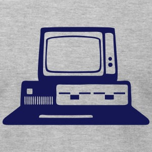 computer old school T-Shirts - Men's T-Shirt by American Apparel