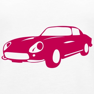car vehicle vintage race  110 Tanks - Women's Premium Tank Top